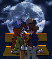 Wendip Week Day 4 - Midnight by PuccaFanGirl