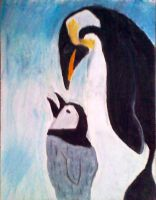 penguins by glitterqueen213