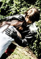 Hug - Rinoa and Squall by Yuki-0-Frost