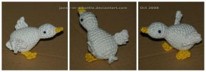 The Crocheted: Goose by janey-in-a-bottle