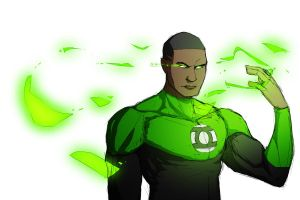 Green Lantern by Toxandreev