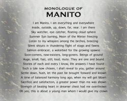 PROLOGUE: MONOLOGUE OF MANITO by CHRISwillar