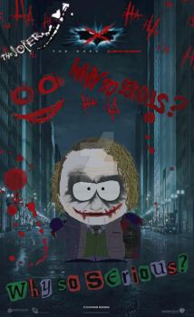 South Park Joker by lord-nightbreed