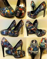 Batman High Heels by MargotlaRue