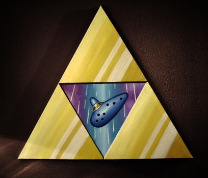 Origin of the Triforce by herbalcell