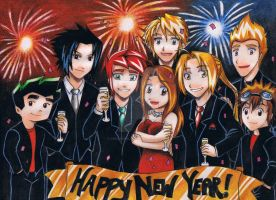 Happy New Year by Dreamgirl2007