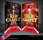Red Carpet Party Flyer Templates by AnotherBcreation on DeviantArt