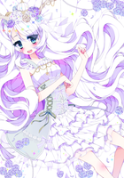 SS16 - White princess by penguinkissus