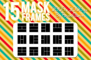 15 Mask Frames (Pack 3) by FaroneStorm