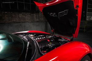 Corvette C6 Engine + Hood by AmericanMuscle