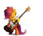 scootaloo bass by CuteSkitty