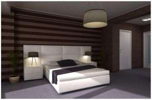 bedroom - brown and purple 2 by raaab