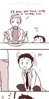 The Adventures of Cas the Cat: I love dis butt by Innocent-raiN