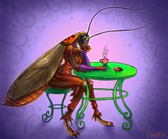Cockroach Tea by v-e-r-a