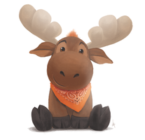 Moose by Lite-mike