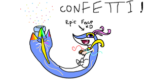 Confetti Entry for Draw to adopt by ComputerDragon