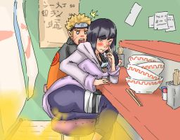 REQUEST: Hinata farting by Lazei