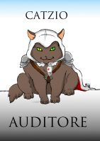 Catzio Auditore by MadHatters-Wife