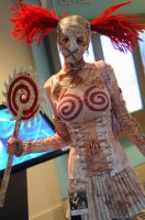 Saw-Blade Mannequin by popecerebus