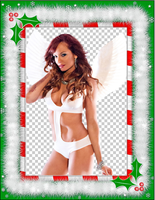 Bold Holiday Angel by EveryDivaEver