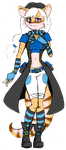 Sly Cooper OC: Riley the Mongoose by AlyssaFoxAH