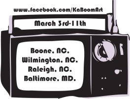 Spring Tour 12 promo by RealKaBoomArt