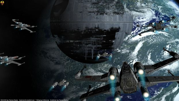 Attack the Deathstar by Euderion