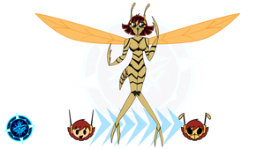 Wasp - Gamma World Version by Dragon-FangX