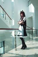 Steins Gate - Kurisu Makise Cosplay 2 by N-is-Nothing
