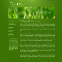 Green Blog Alternative by Cmain