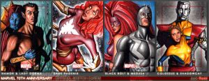 Marvel 70th Sketch Cards 9 by J-Redd