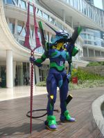 EVA-01 at Central Park Mall 9 by V-male