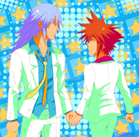 Riku and Sora in Soots by Sastis