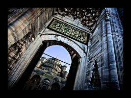 blue mosque by PatrickWally