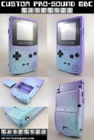 Custom Painted Gameboy Color by Thretris