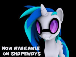 Vinyl Scratch - Now available! by Hashbro