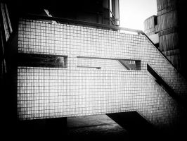 City Stairs 3 by Bazz-photography