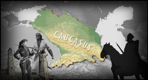 Caucasus kavkaz wallpaper by TheColchian