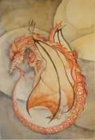 red dragon dream by fawnmaiden