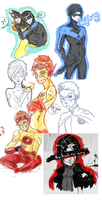 DC sketch dump by Demostheses