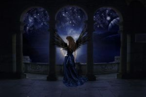 Shine Your Light Fallen Angel by BrownEyedWyldChyld