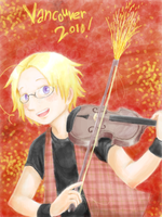 APH: olympic fiddler by Kaede-chama