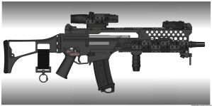 G36K Troy like by ZiWeS