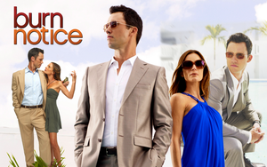 Burn Notice Wallpaper 2 by MazukaGhoul