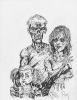 Meet The Zombies- by PM-Graphix