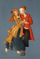 ::Commission Phantom of the Opera:: by VioletKy