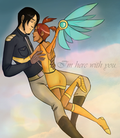 I am here with you. by Crococheese