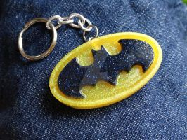 Batman Resin Key Chain by mia831
