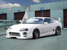 Toyota Supra by blackdoggdesign