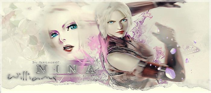 Nina Williams by MaryLander97